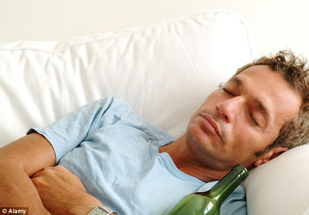 Alcohol disturbs REM sleep