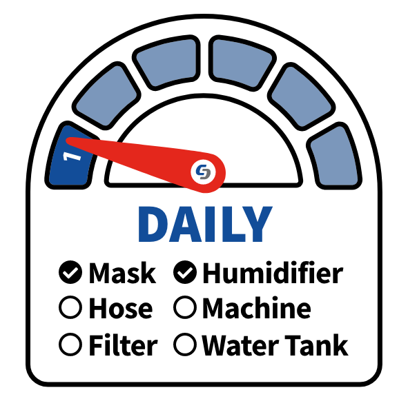 daily cpap maintenance
