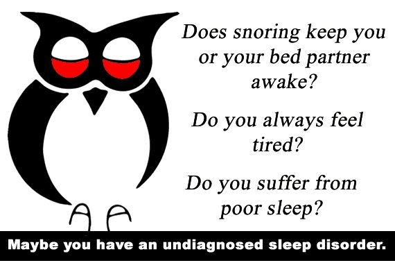 Are you always tired or sleepy during the day ?